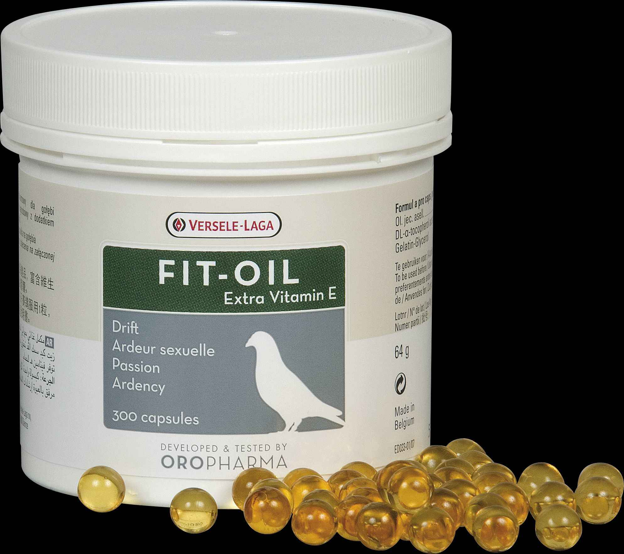 Oropharma Fit-Oil 300St.